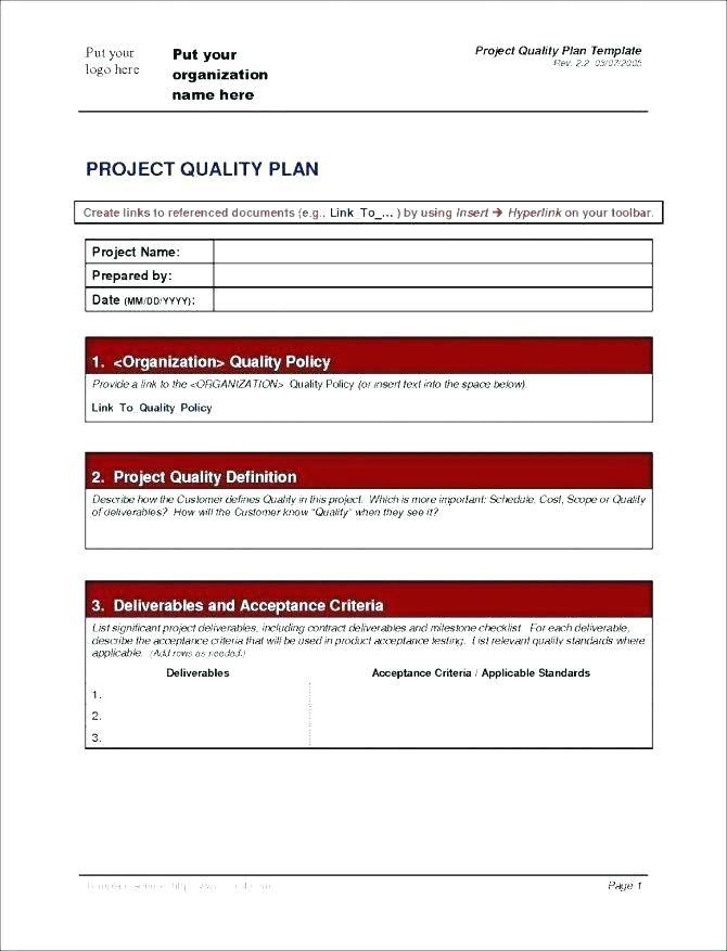 Project Cost Management Plan Excel Template