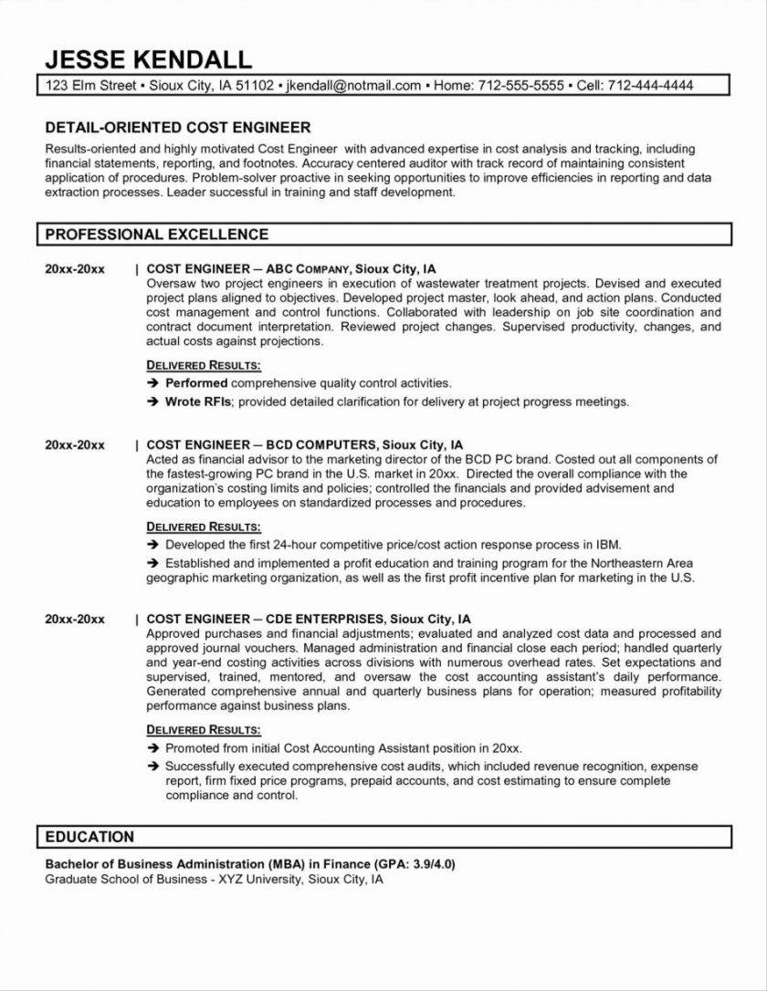 Project Financial Proposal Template