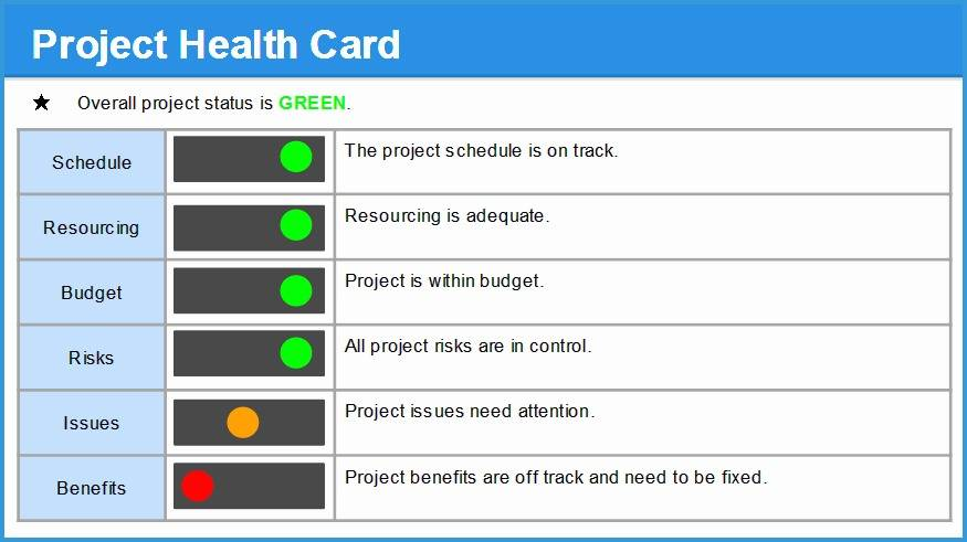 Project Management Dashboard Powerpoint Template Free Download