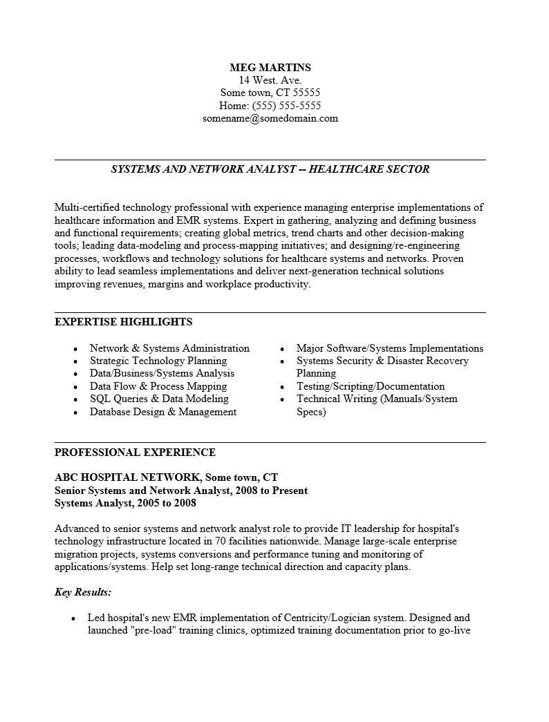 Project Manager Resume Template Word