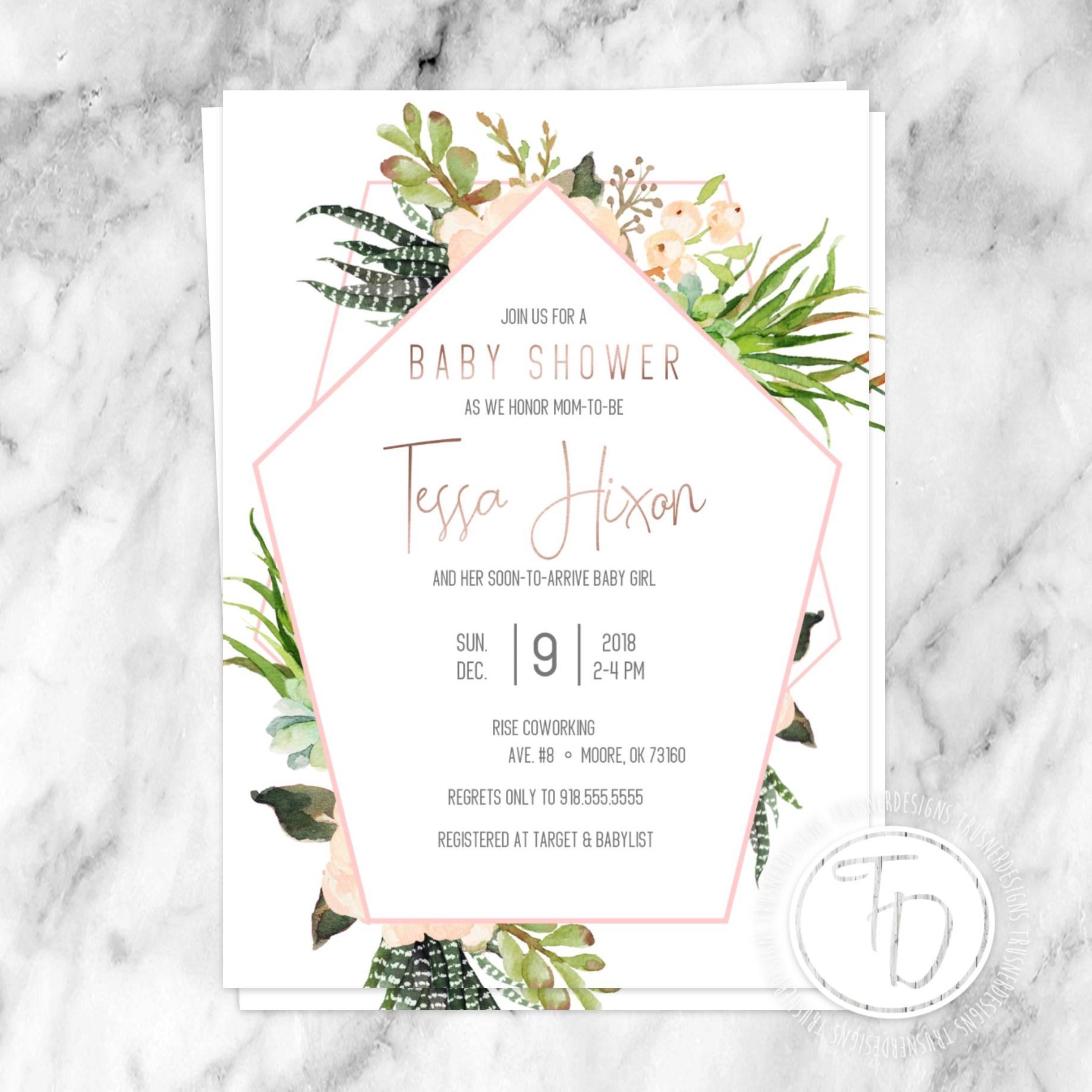 Prom Invitation Designs
