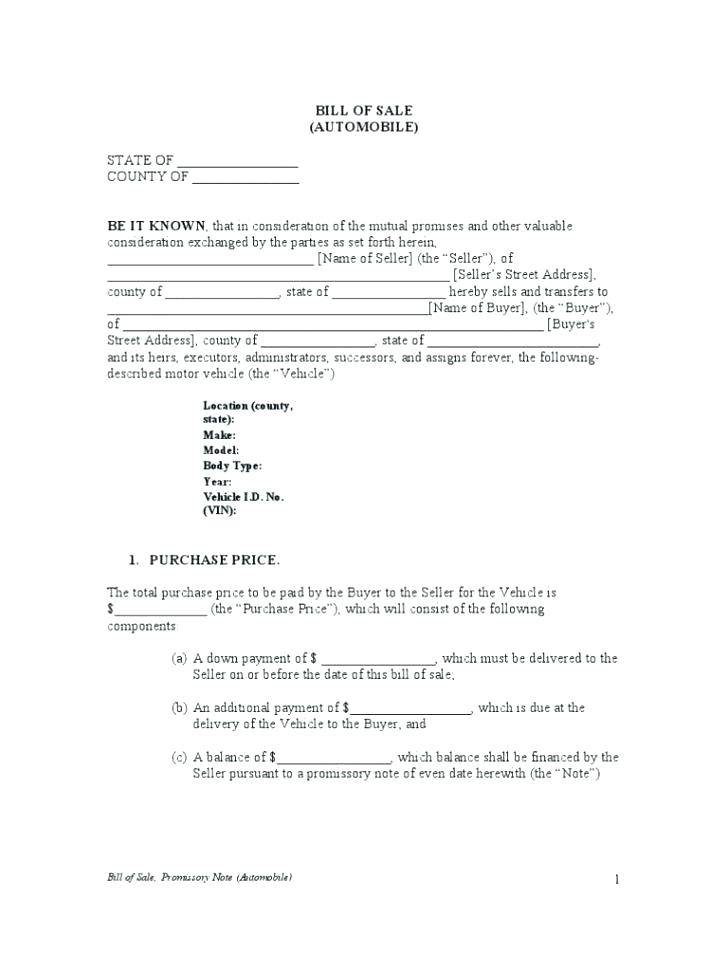 Promissory Note Template Uk Pdf
