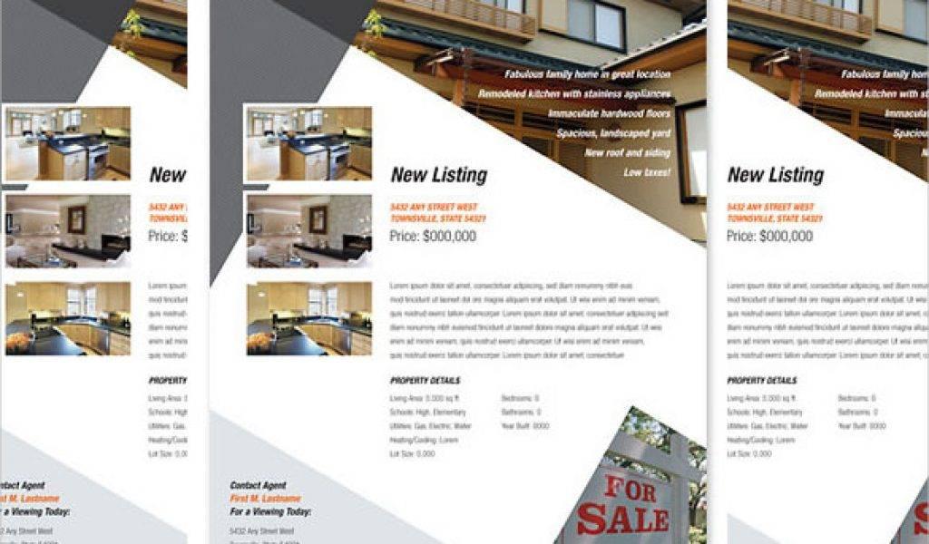 Property Brochure Template Word