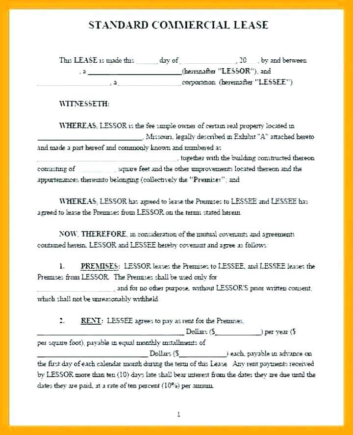 Property Lease Agreement Template South Africa
