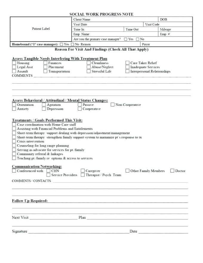 Speech Pathology Soap Note Template - Templates #144703 | Resume