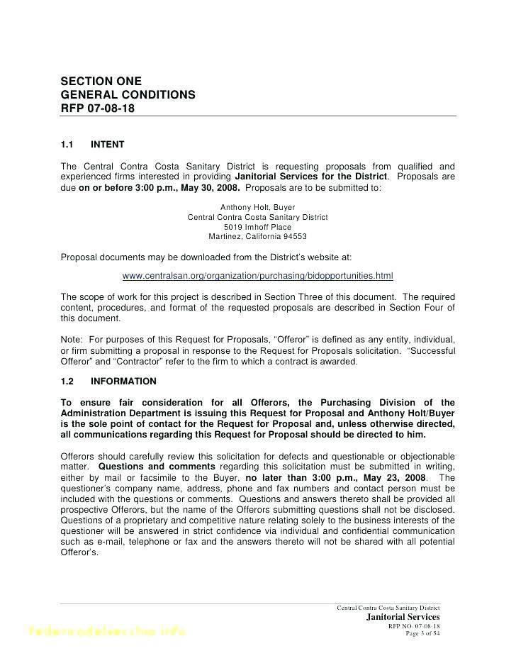 Public Relations Rfp Template