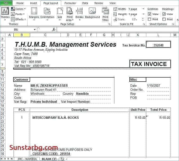 Quickbooks Import Invoice Template - Templates #130538