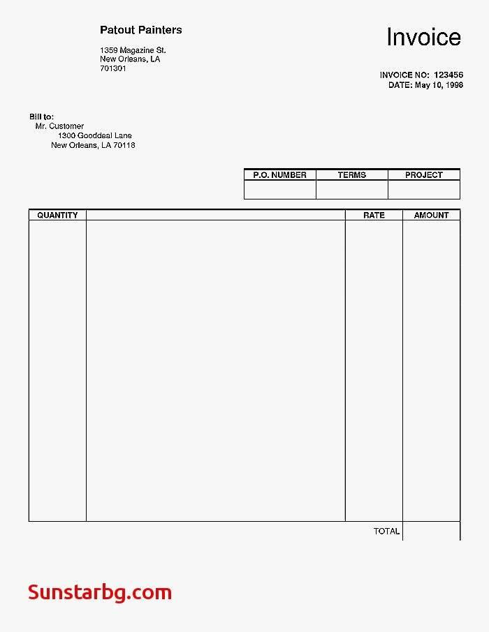 Quickbooks Import Invoice Template