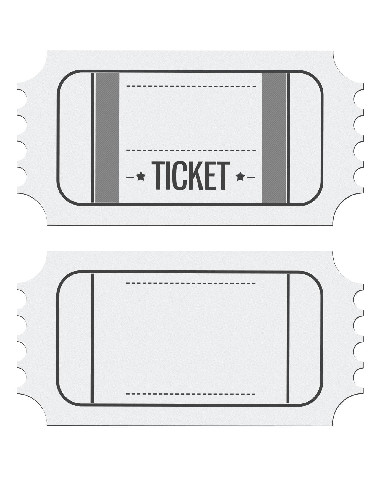 Raffle Ticket Template Pdf