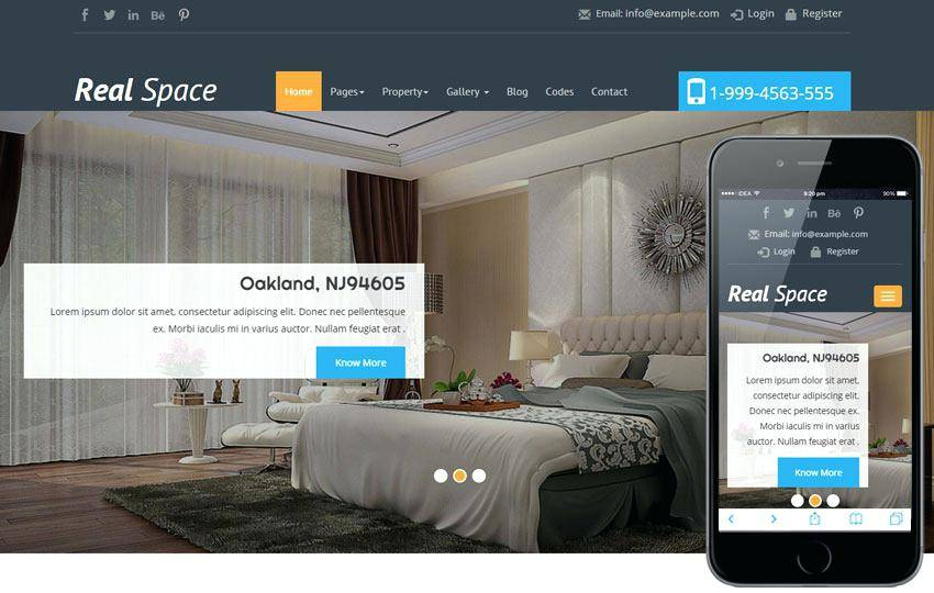 Real Estate Agency Responsive Website Templates Free Download