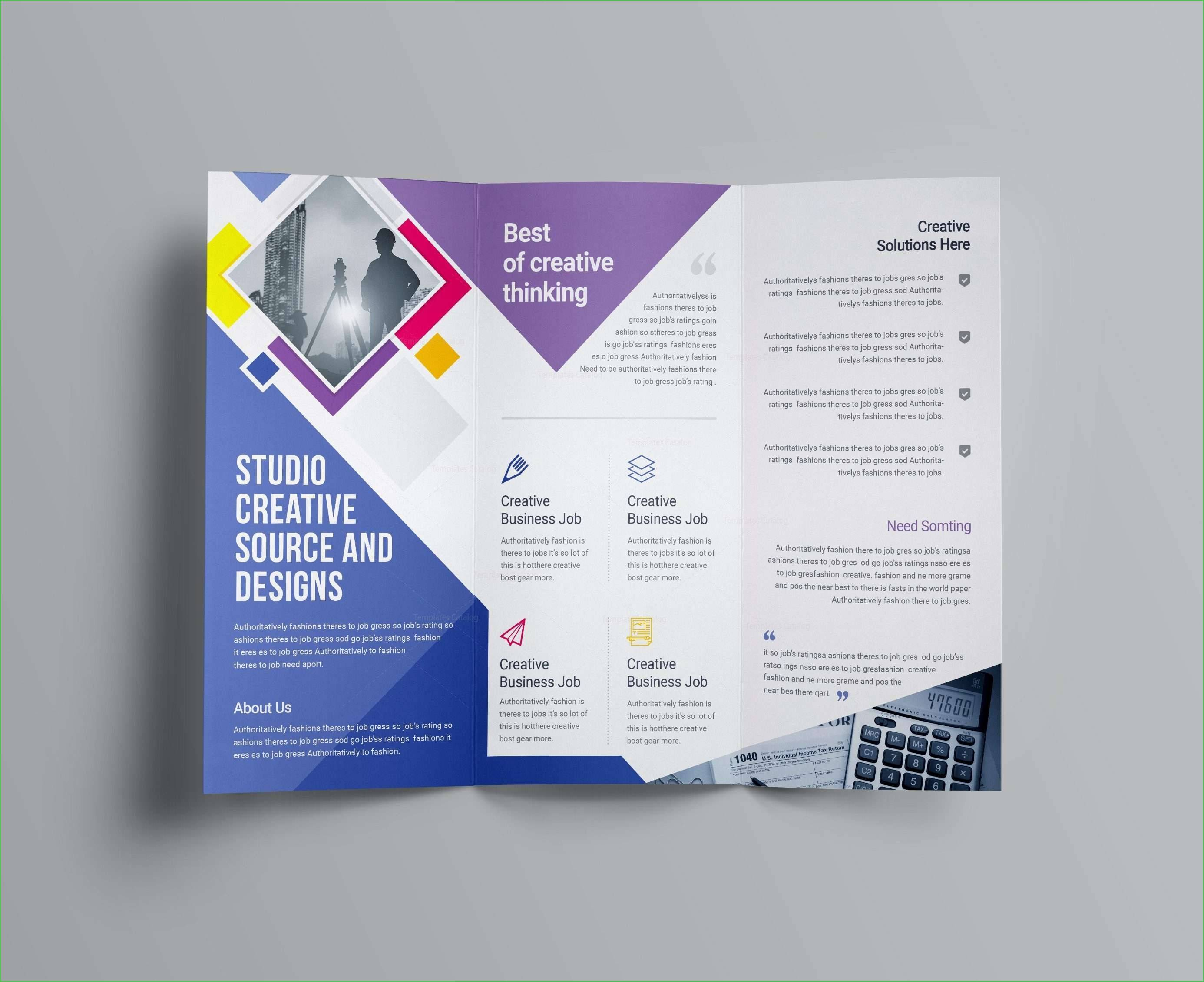 Real Estate Brochure Template Publisher