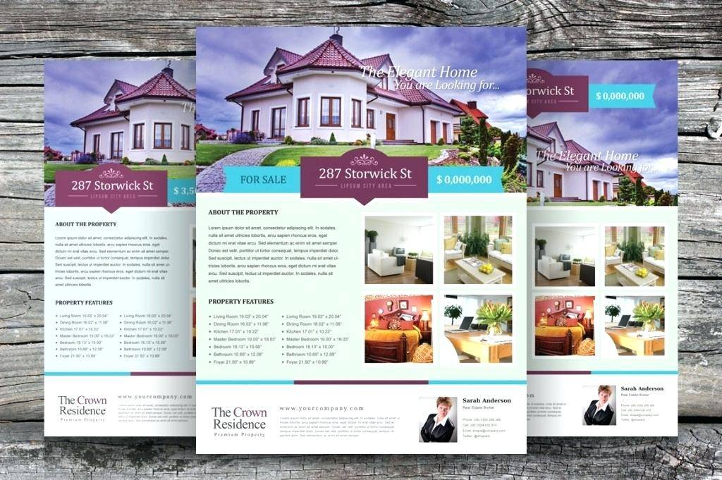 Real Estate Listing Flyer Templates Free