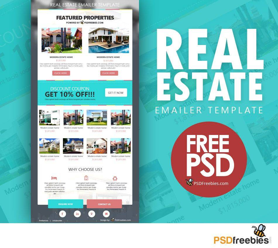 Real Estate Newsletter Template Free