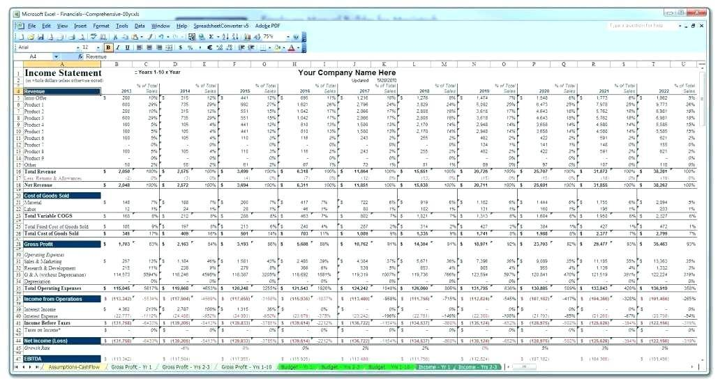 Real Estate Pro Forma Example