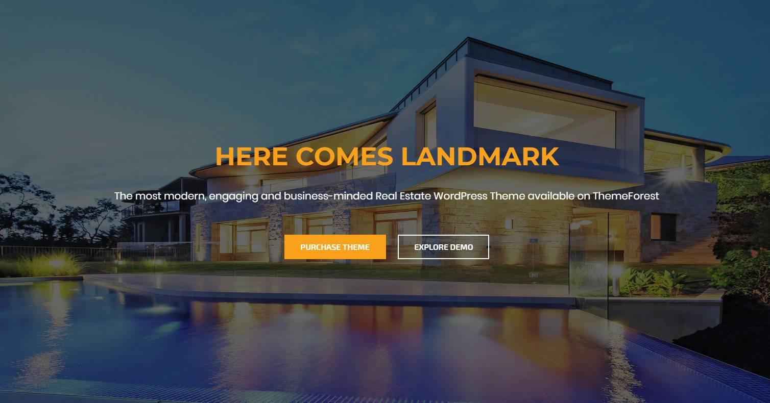 Real Estate Wordpress Themes 2018
