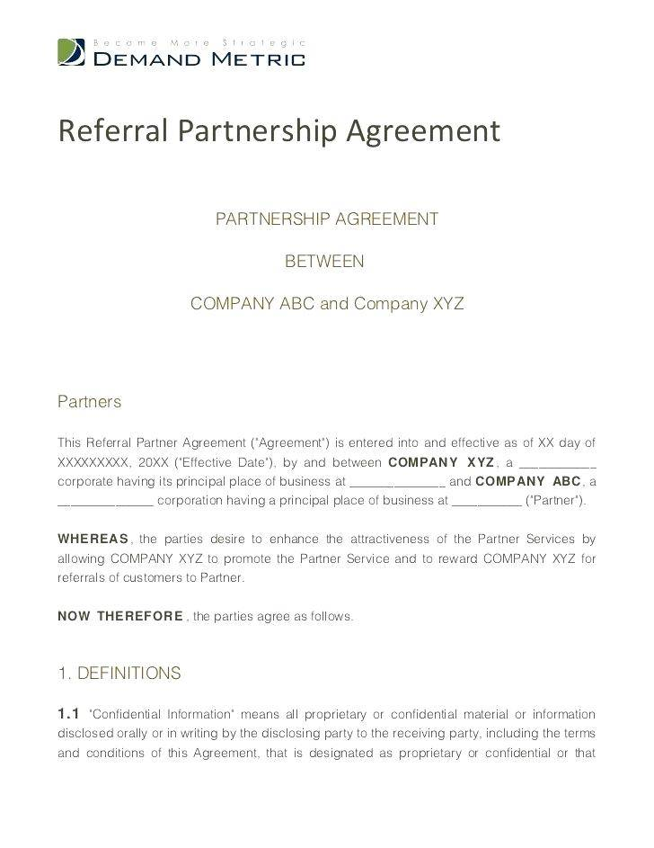 Referral Fee Agreement Template Free Download