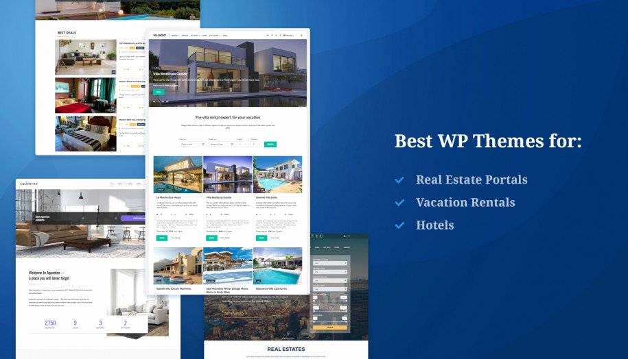 Rental Property Website Templates