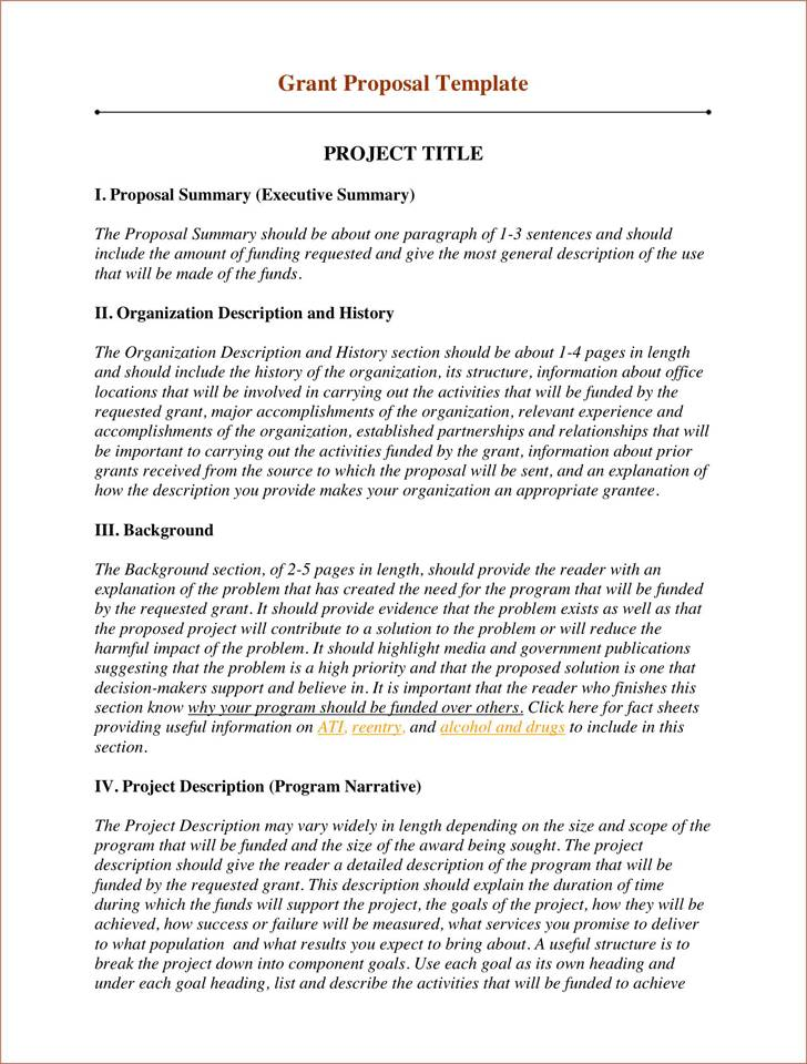 Request For Audit Proposal Template Not For Profit
