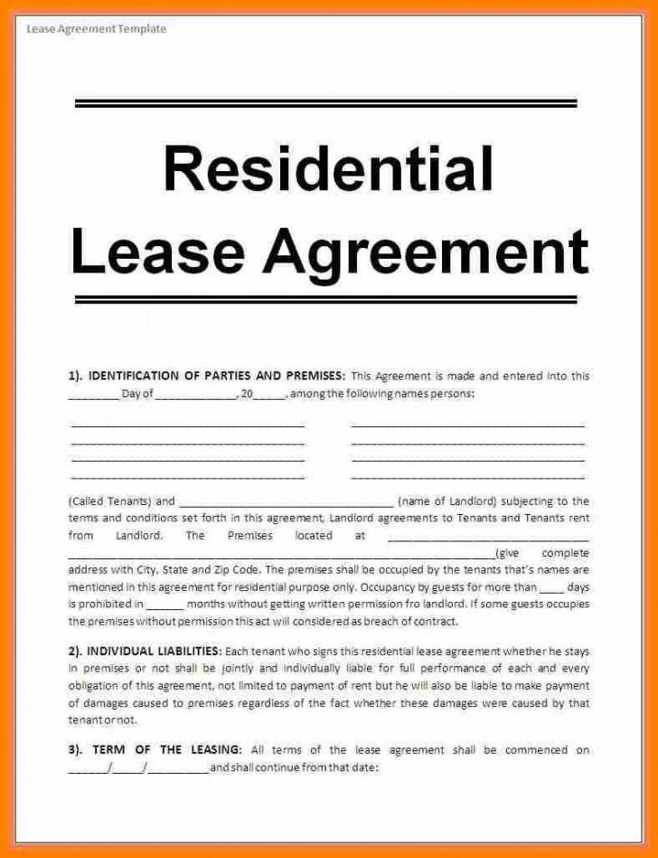 Residential Lease Agreement Template Philippines