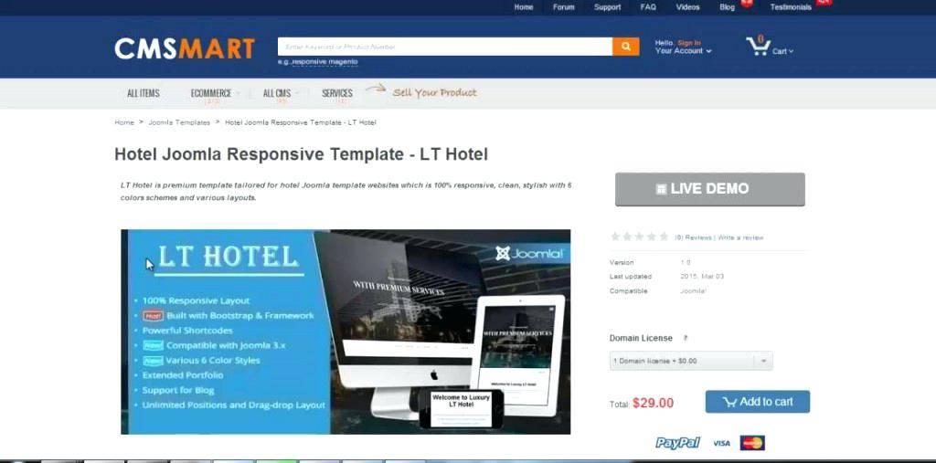 Responsive Joomla 3x Templates