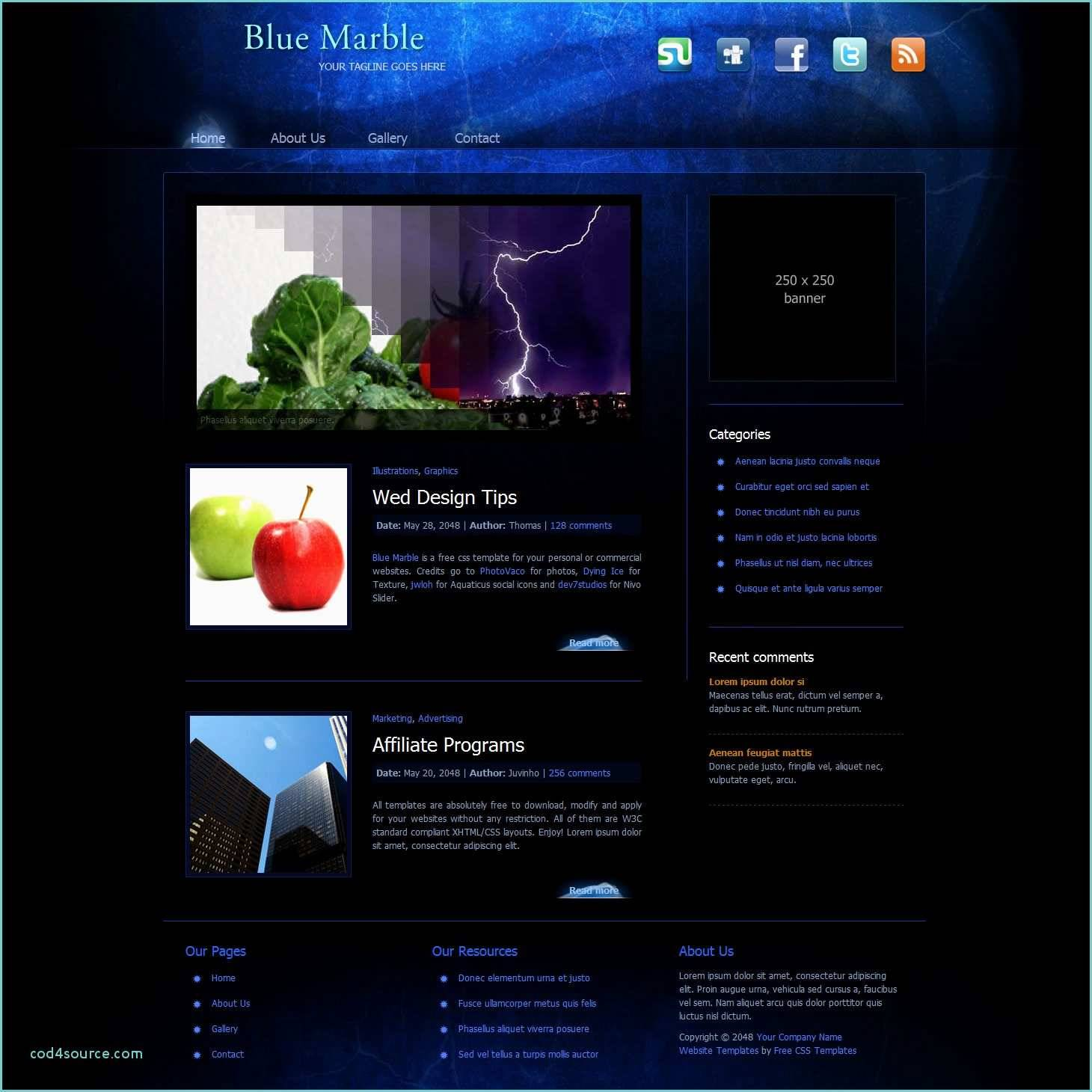 Responsive Websites Templates Free Download Html With Css