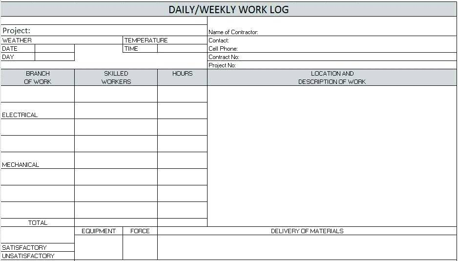 Restaurant Reservation Book Template Excel
