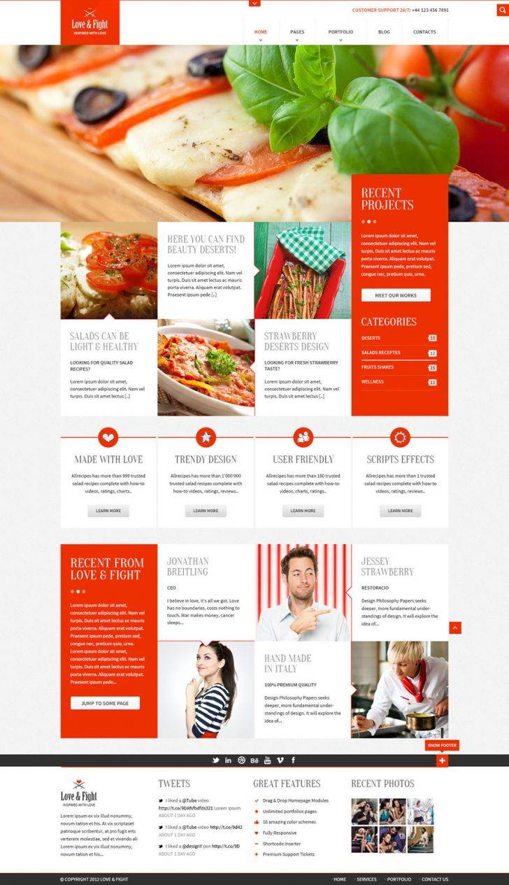 Restaurant Website Templates Free Download Html5