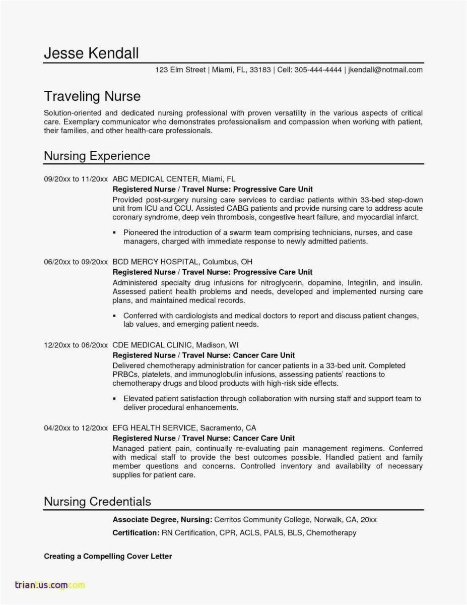 Resume Format With Photo Templates