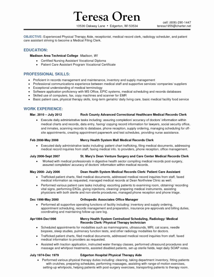 Resume Template For Customer Service Supervisor