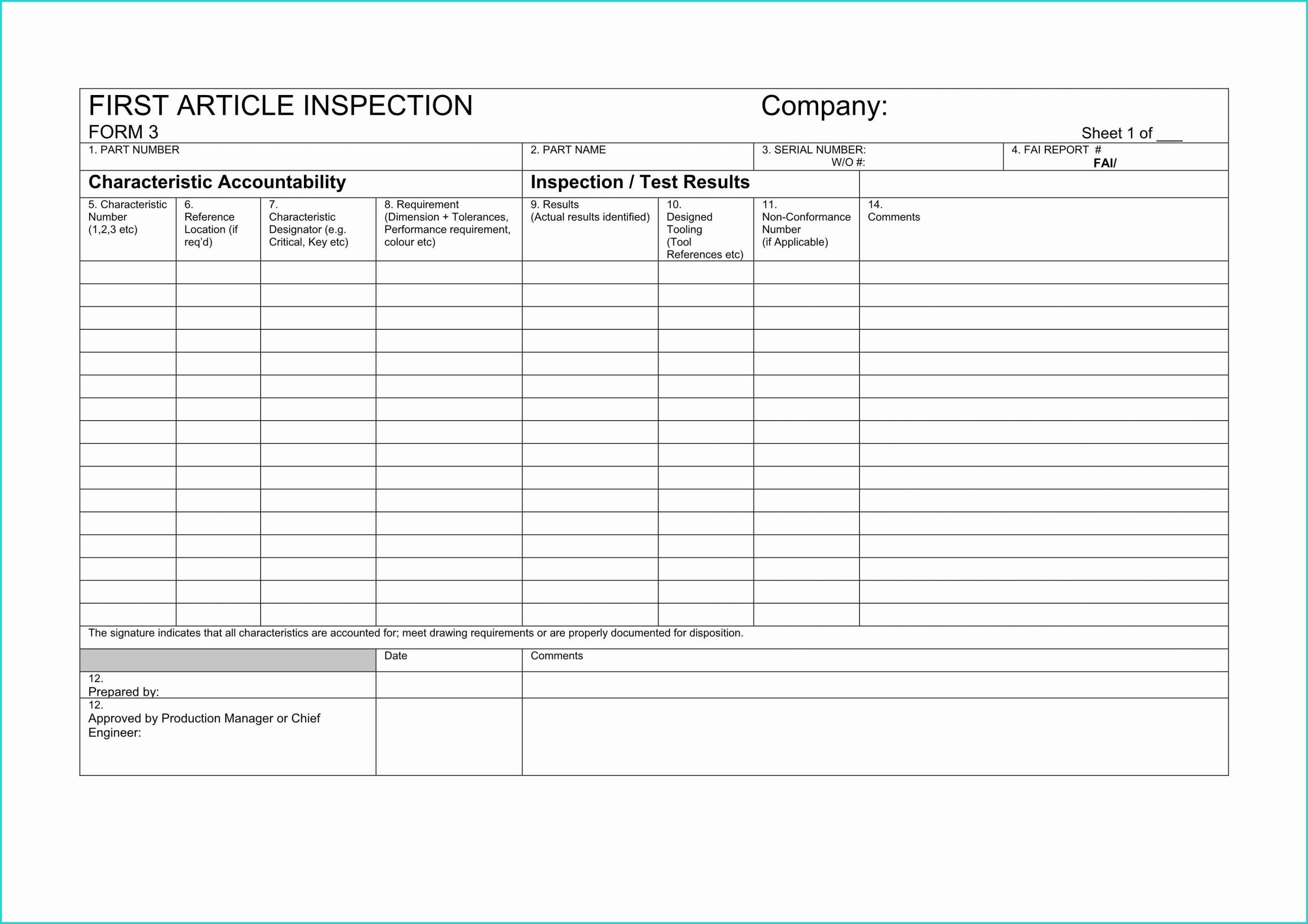 Roof Inspection Checklist Template