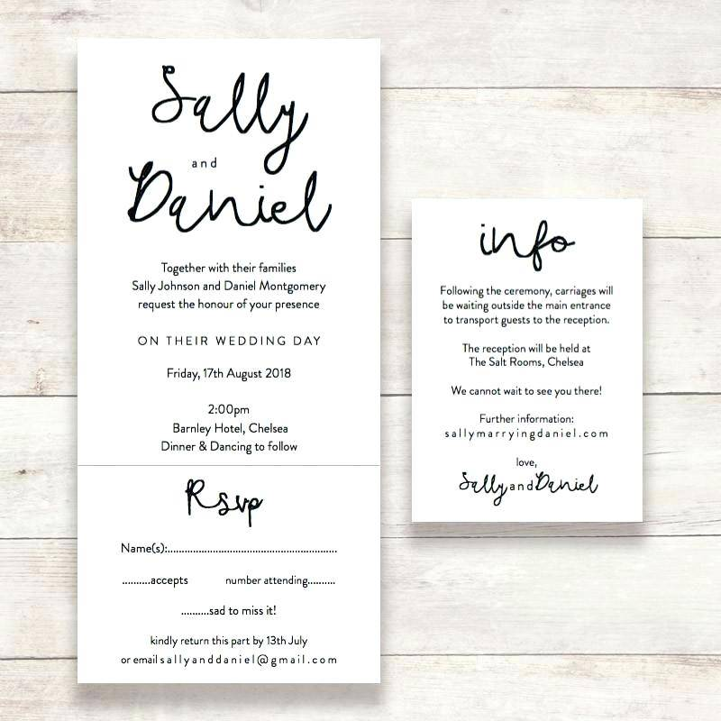 Rsvp Templates For Wedding Invites