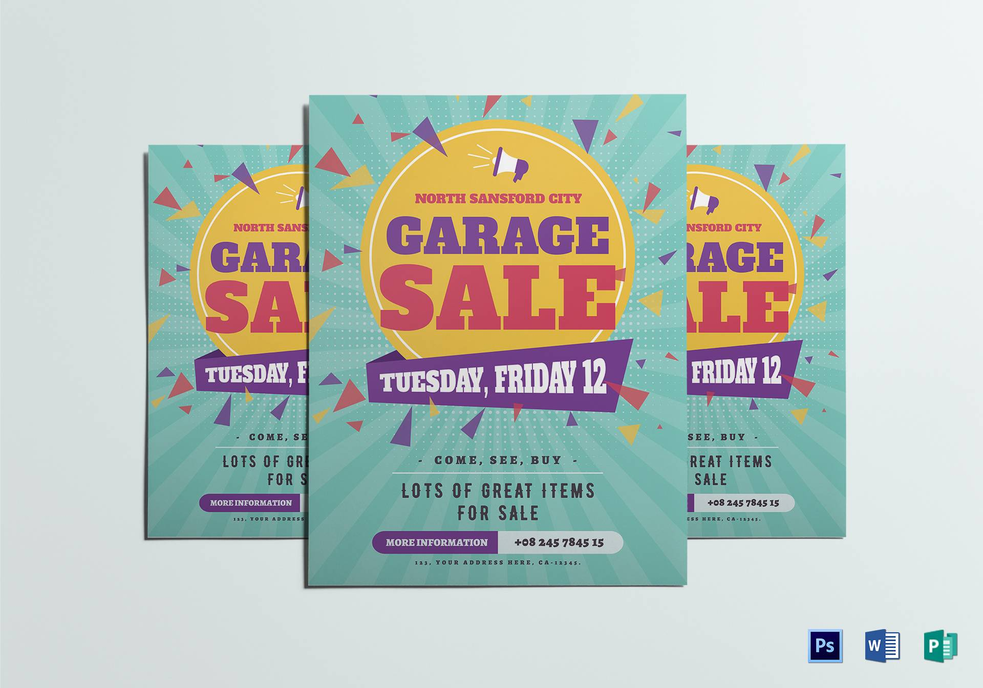 Sales Flyer Template Word Free