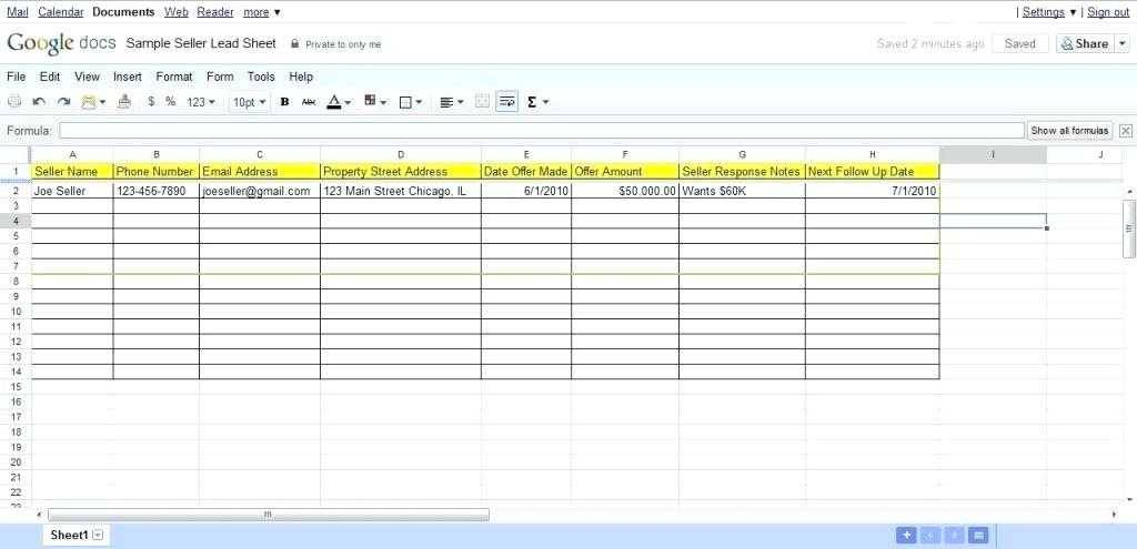 Sales Lead Tracking Template Excel