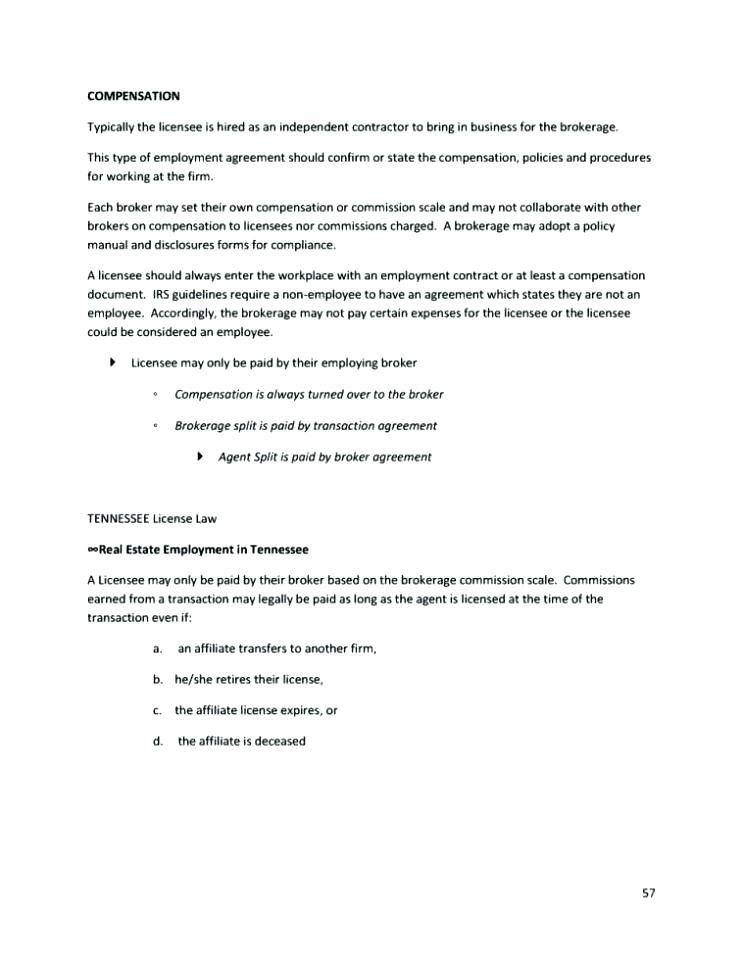 Sales Representative Employment Contract Template