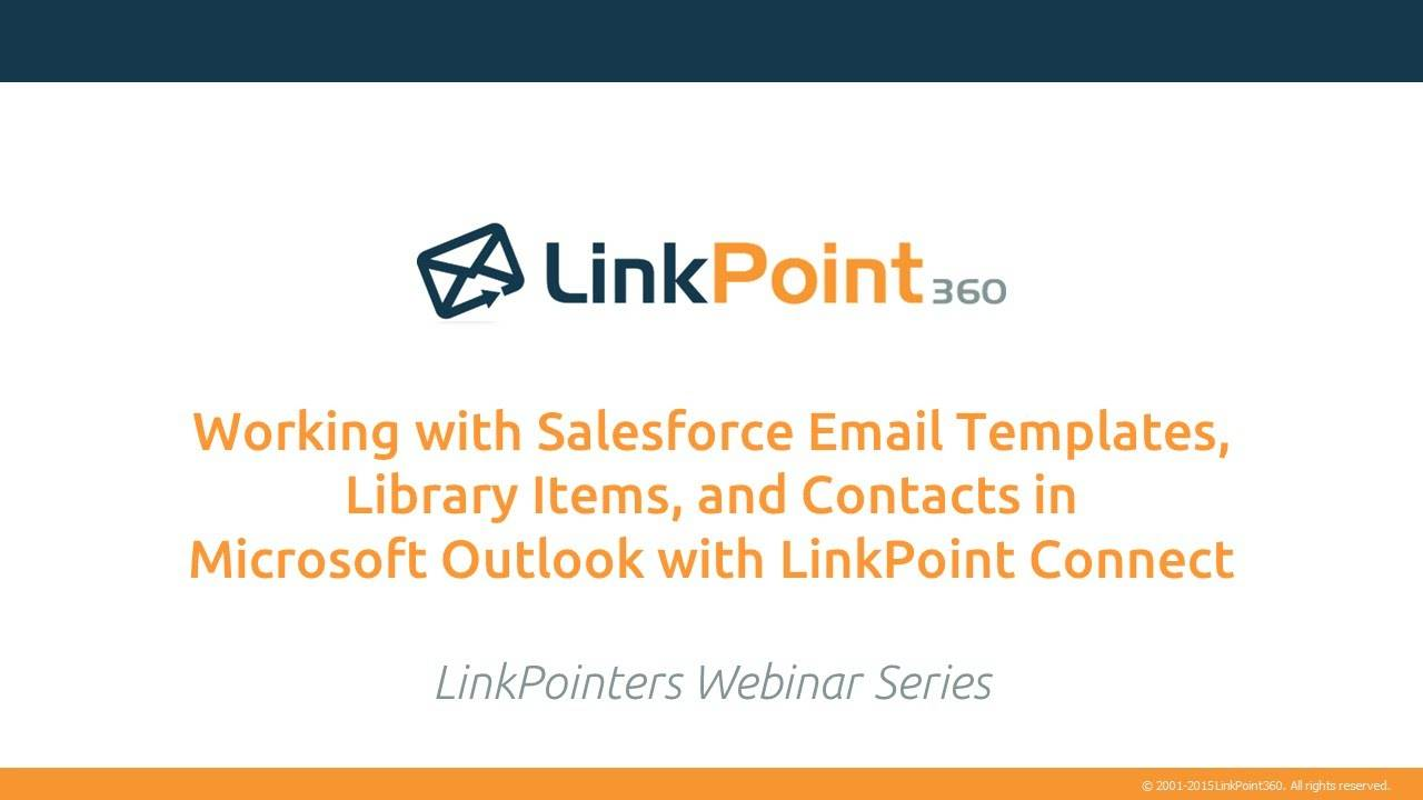 Salesforce Email Templates In Outlook