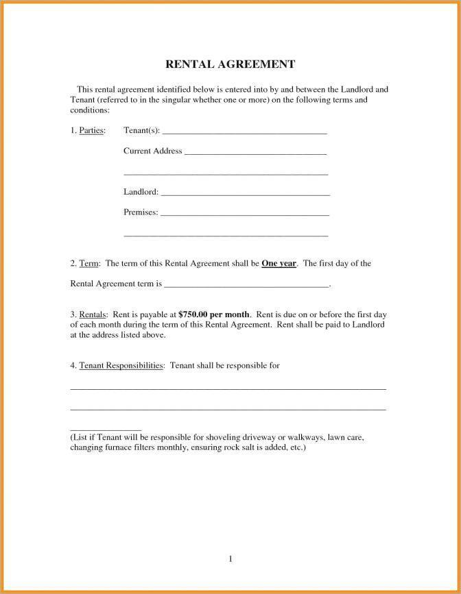 Salon Chair Rental Agreement Template