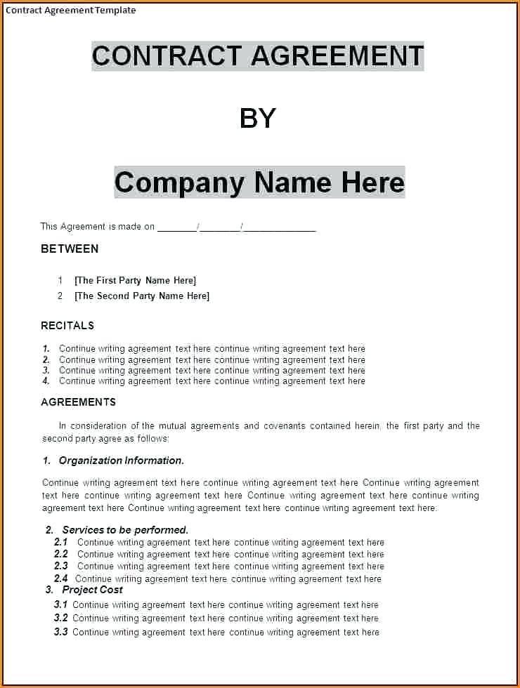 Sample Merger Agreement Template