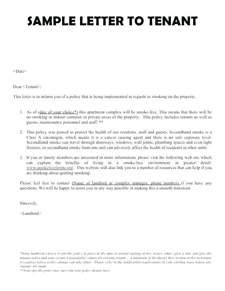 Sample Of Lease Agreement Termination Letter