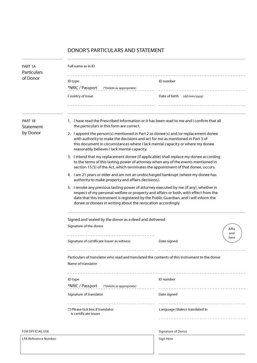 Sample Of Power Of Attorney Letter