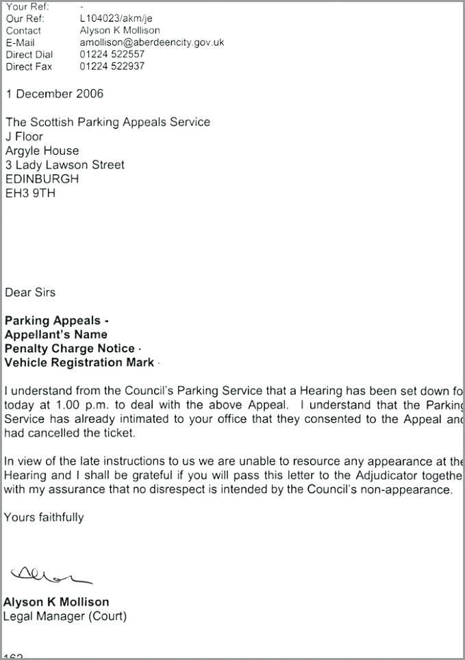 Sample Parking Ticket Template