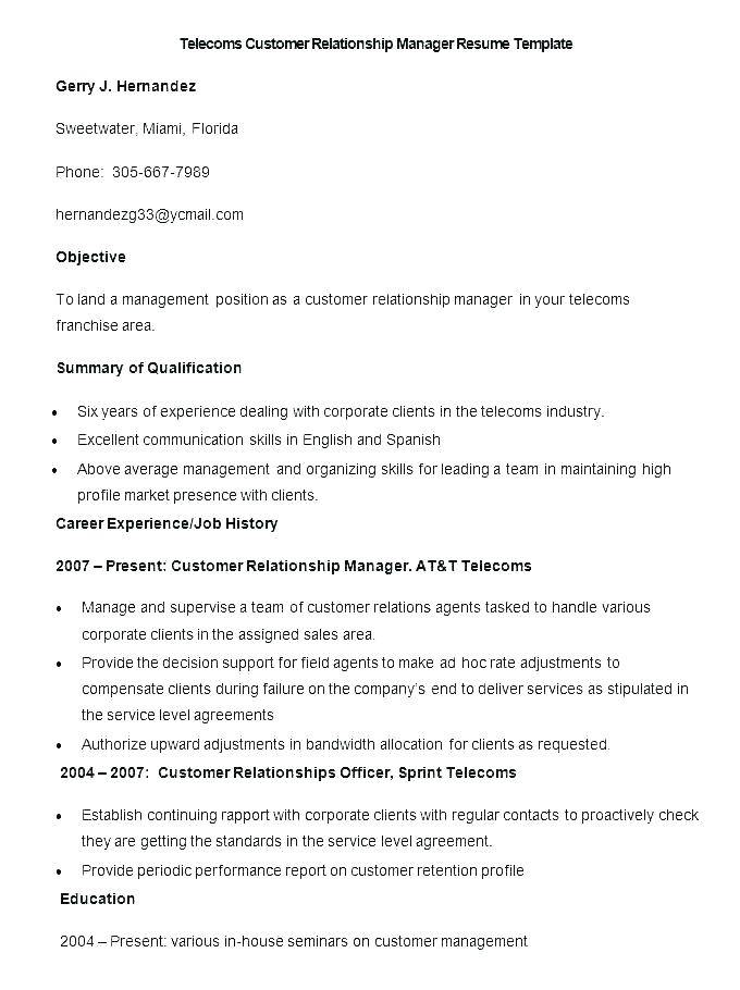 Sample Profile For Customer Service Resume