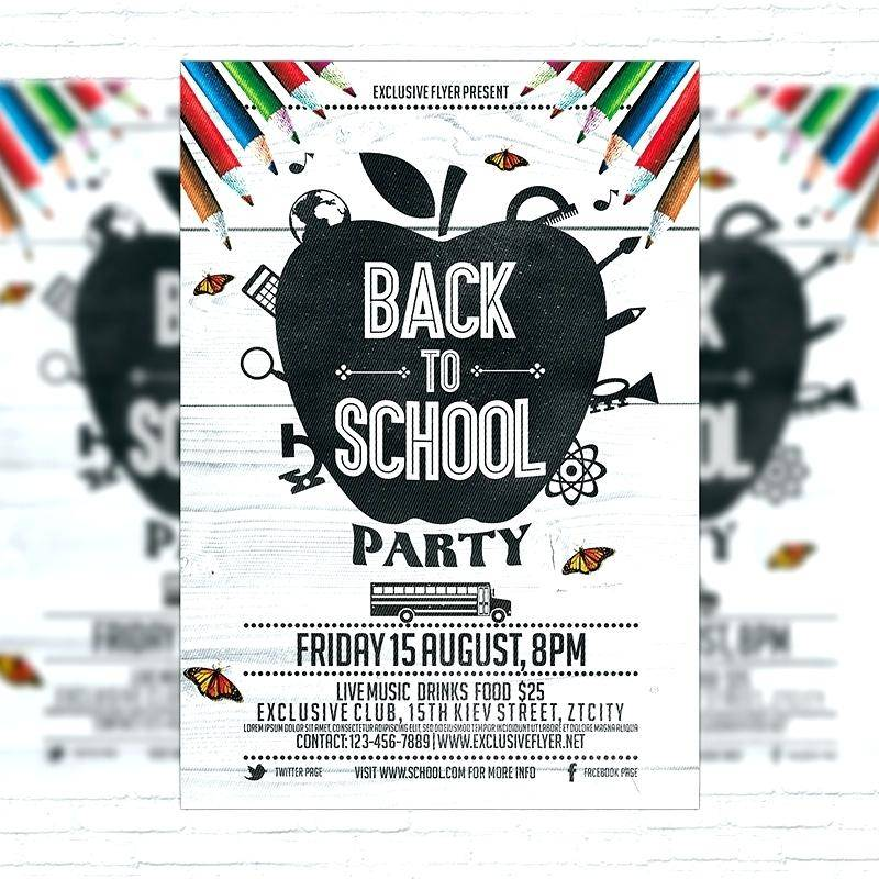 School Carnival Flyers Templates Free Download