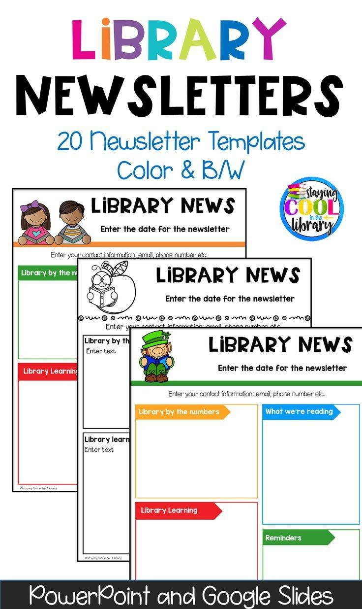Free Editable School Newsletter Templates For Word Templates