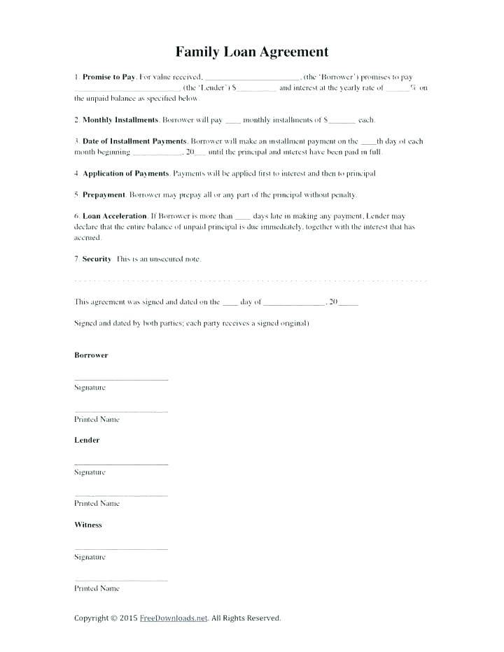 Secured Loan Agreement Template Free Uk