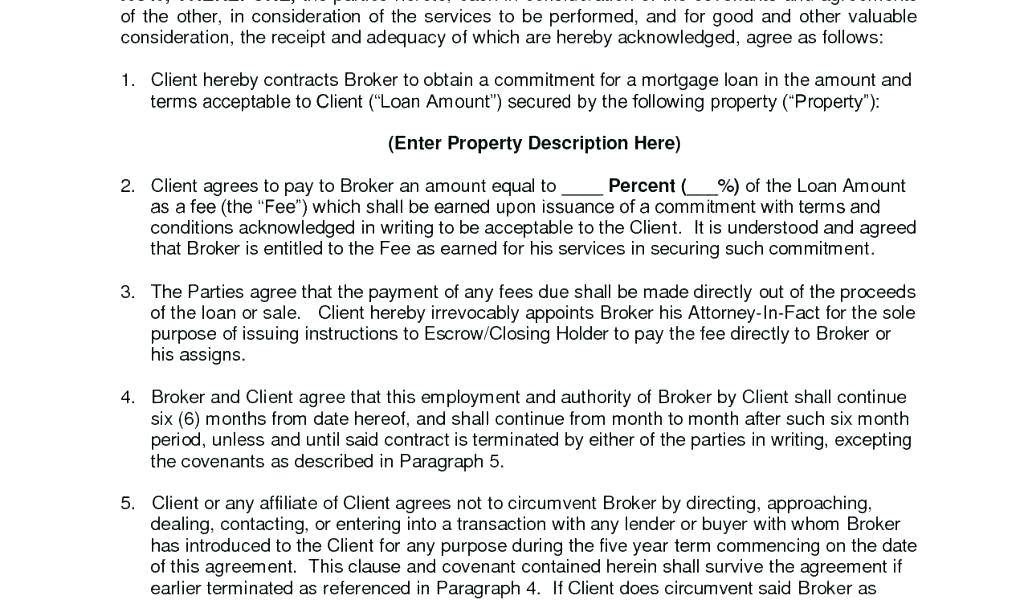 Secured Loan Contract Template