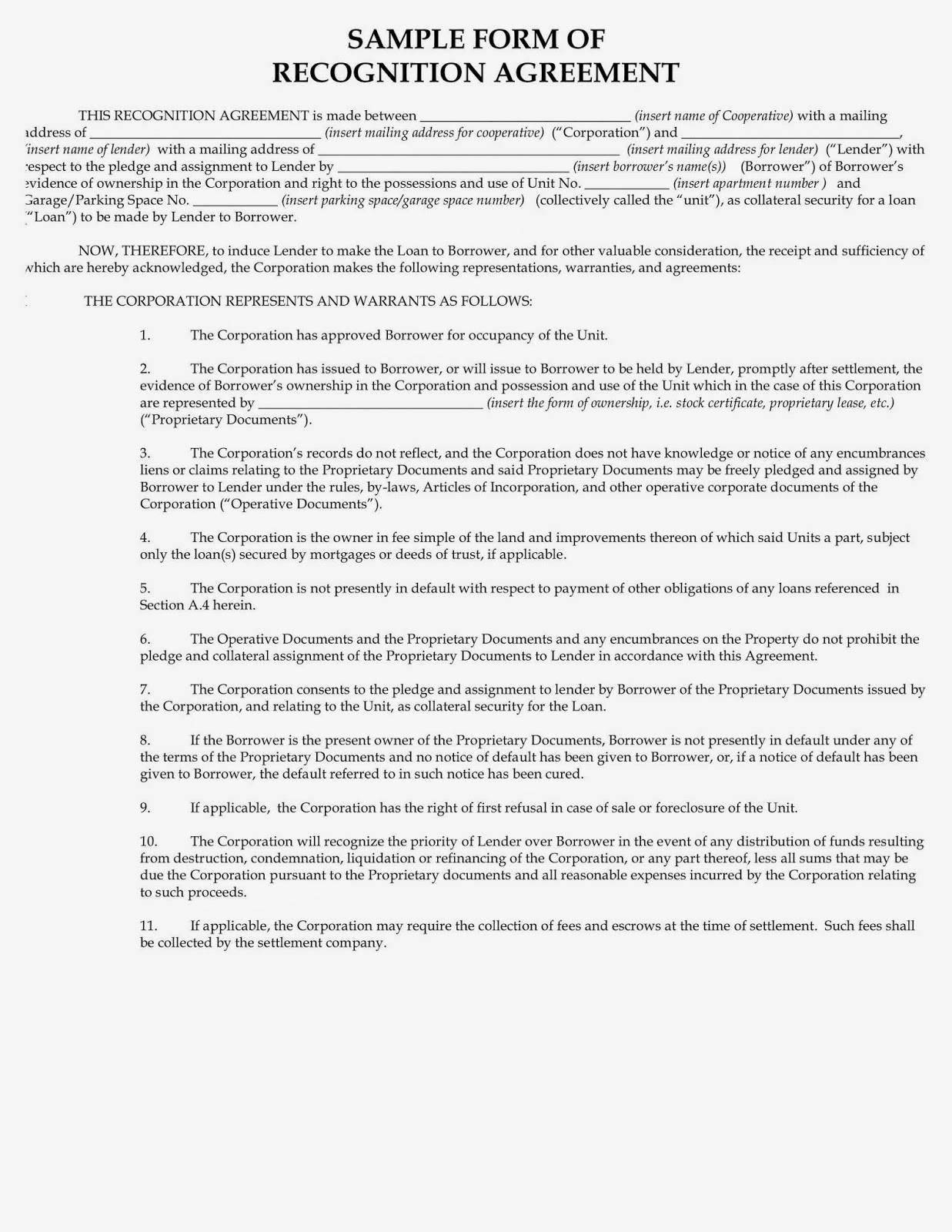 Secured Private Loan Agreement Template