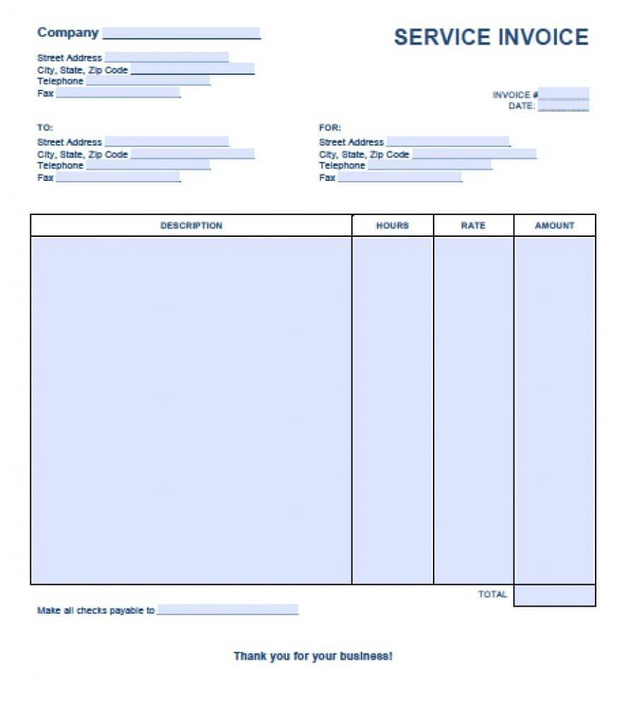Self Employed Receipt Template Uk