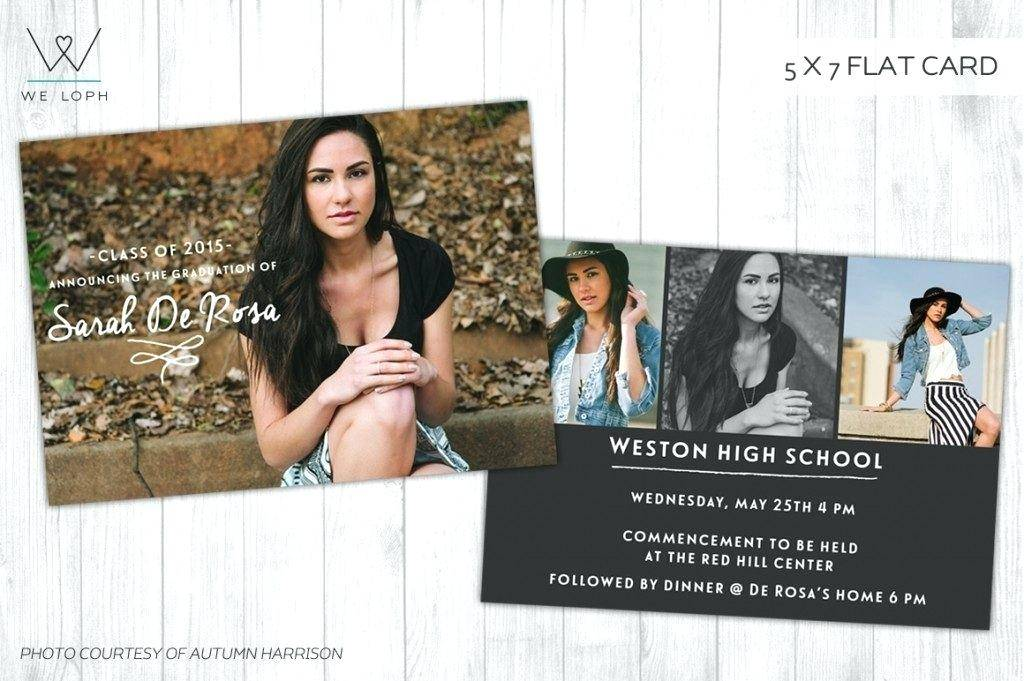 Senior Announcements Templates