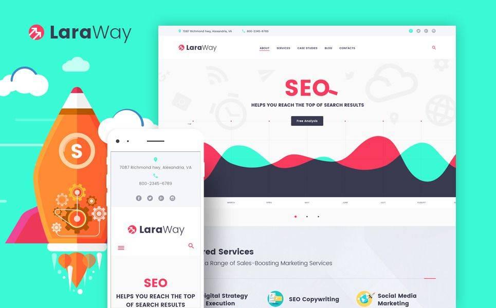 Seo Agency Template Wordpress