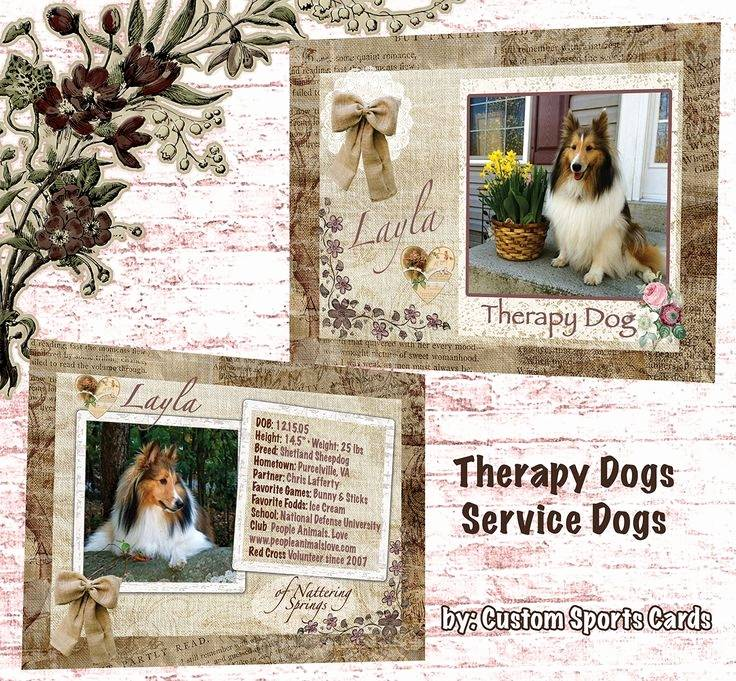 Service Dog Id Card Template Free Download